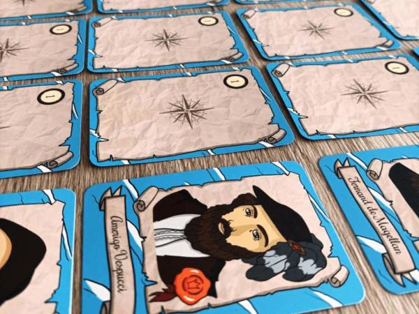 Pack Les Grands Explorateurs - C'est un jeu d'enfant - Cartes à jouer