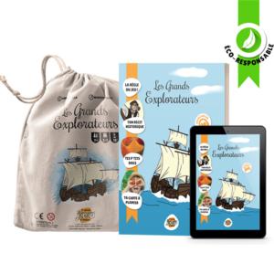Pack Les Grands Explorateurs - C'est un jeu d'enfant - Jeux de société pédagogiques créés par des enseignants