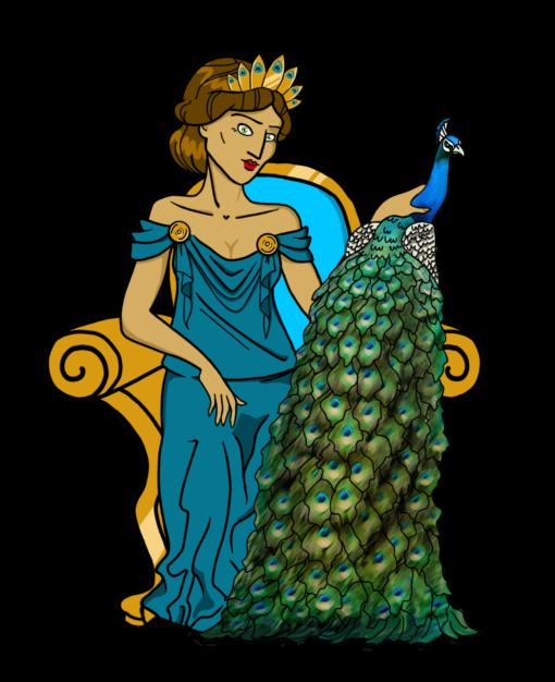 Héra - Mythologie grecque - C'est un jeu d'enfant - Jeux de société pédagogiques créés par des enseignants