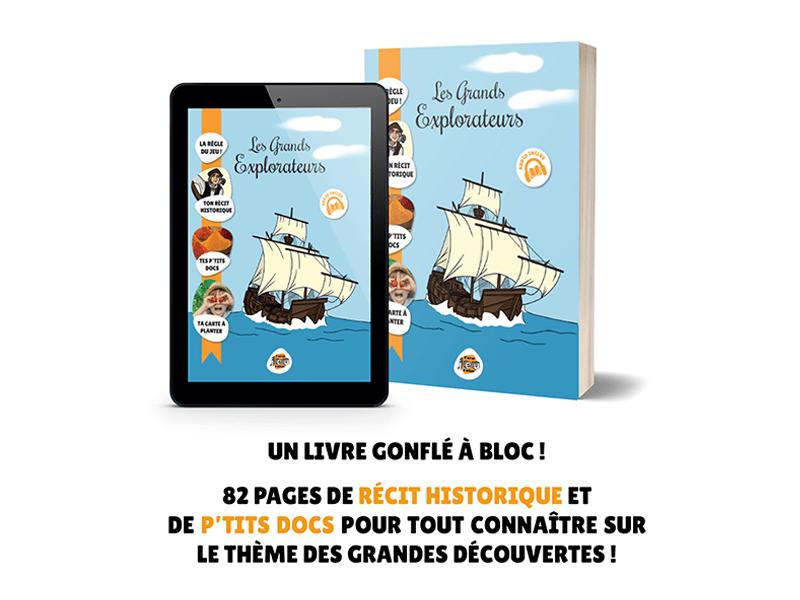 Les Grands Explorateurs - Le Livre