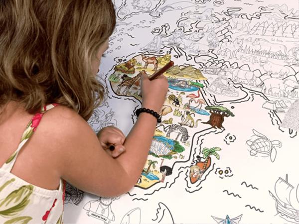 Coloriage Géant (3) - Les Grands Explorateurs