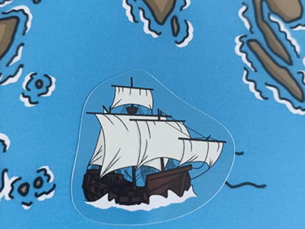 Poster et stickers (2) - Les Grands Explorateurs