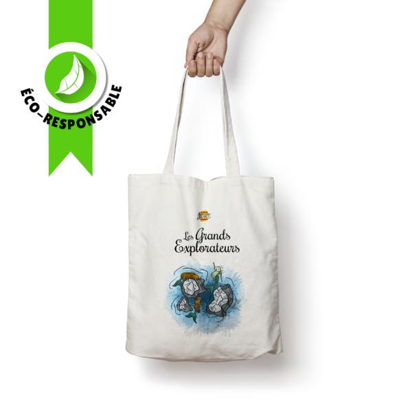 Tote Bag Sirènes - Les Grands Explorateurs - C'est un jeu d'enfant
