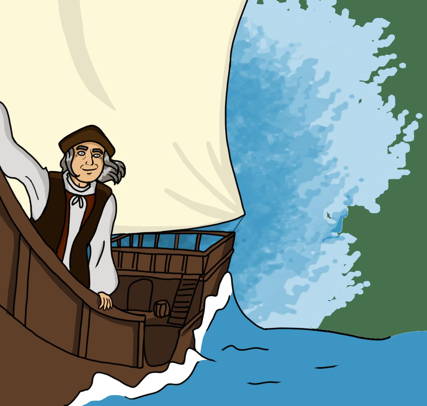 Le Grand Voyage de Christophe Colomb - Le Récit historique